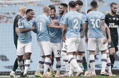 Gabriel Jesus deixa o dele, Manchester City joga bem e atropela Newcastle