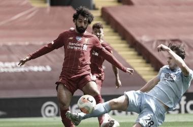 Liverpool empata com Burnley e tropeça pela primeira vez no Anfield em mais de um ano