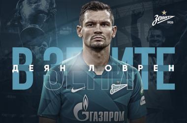 Ex-Liverpool, Zenit confirma contratação do zagueiro Lovren por três temporadas