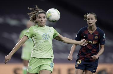 Poder de decisão do Wolfsburg garante vitória sobre Barcelona e classificação à final da Champions League