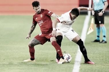 Imagen del encuentro. Fuente: Sevilla FC