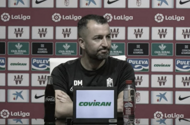 """Diego Martínez: """"No me he reunido con nadie"""""""