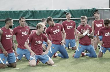 Entrenamiento de pretemporada | Foto: fcbarcelona.es