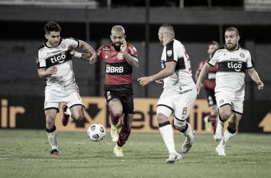 Melhores momentos de Flamengo x Olimpia pela Libertadores (5-1)