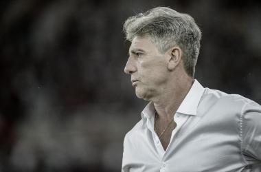 Treinador com mais vitórias na Libertadores, Renato Gaúcho comemora sua terceira final