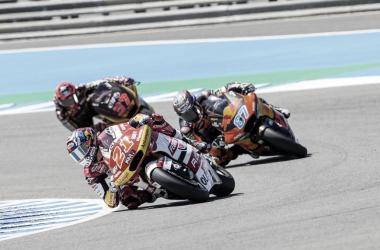 Top 3 en la carrera de Jerez / Fuente: Gresini Racing