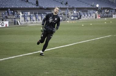 Manuel Neuer, el hombre récord del Bayern Munich. / Twitter: Bayern Múnich oficial