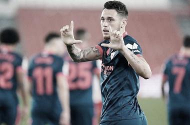 Na estreia de Papu Gómez, Sevilla vence Almería e avança às semifinais da Copa do Rei