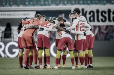 El RB Leipzig buscará derrotar al Liverpool y así, encaminarse a la siguiente ronda. /Twitter: Die Roten Bullen oficial