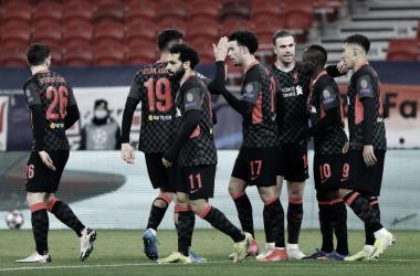 Con goles de Salah y Mané el Liverpool encamina la serie. / Twitter: Liverpool FC oficial