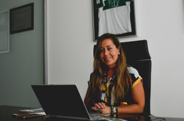 Patricia Rodríguez en su etapa en el Elche | Foto: Elche.es