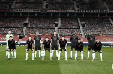 El XI inicial de la Real Sociedad / Foto: Real Sociedad.