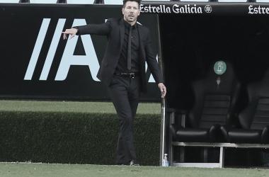 El Atlético de Madrid empató 1-1 contra el Real Madrid. /Twitter: Diego Pablo Simeone oficial