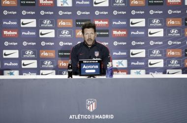 """Simeone: """"Joao es un futbolista importantísimo para nuestro equipo"""""""
