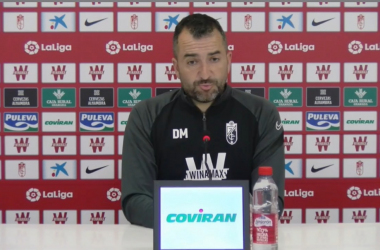 """Diego Martínez: """"El Villarreal es un rival de máxima exigencia"""""""