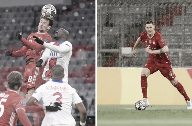 Leon Goretzka y Niklas Süle, nuevas bajas en el conjunto bávaro. /Twitter: Bayern Múnich oficial