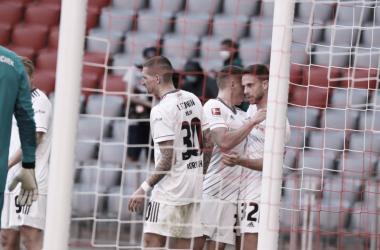 El Unión Berlín consiguió empatar ante el líder del campeonato. /Twitter: 1. FC Unión Berlín oficial