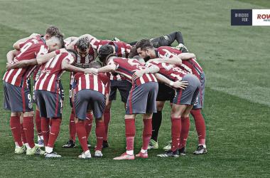 El Atlético tendrá que vencer al Betis si quiere seguir en la lucha por el título. /Twitter: Atlético de Madrid oficial