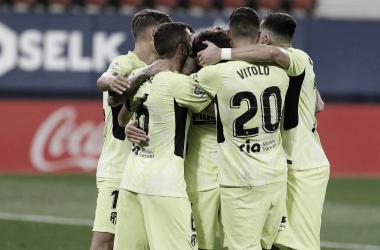 El Atlético de Madrid se enfrentará el próximo domingo al Eibar. /Twitter: Atlético de Madrid oficial