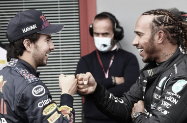 Lewis Hamilton após o qualifying do GP Emilia-Romagna 2021 (Foto: Divulgação / Mercedes)
