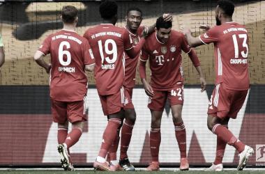 El Bayern Múnich sigue líder del campeonato. /Twitter: Bundesliga English oficial
