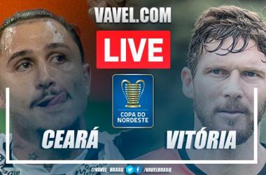 Gols e melhores momentos Ceará 2 x 0 Vitória pela Copa do Nordeste 2021