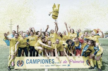 "<p class=""MsoNormal"">Celebración del ascenso // Foto: Villarreal C.F&nbsp;<o:p></o:p></p>"