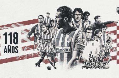 La tarde del 26 de abril de 1903 se fundó el club con más corazón del mundo, el Atlético de Madrid. / Twitter: Atlético de Madrid oficial