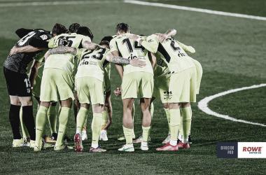 El Atleti sigue dependiendo de si mismo si quiere proclamarse campeón. /Twitter: Atlético de Madrid oficial