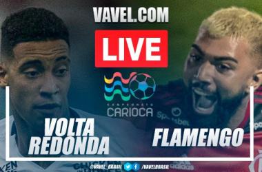 Gols e melhores momentos de Volta Redonda 0 x 3 Flamengo pelo Campeonato Carioca