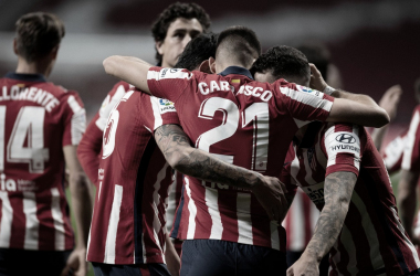 El Atlético de Madrid venció al Barcelona en el último encuentro entre ambos equipos./ Twitter: Atlético de Madrid oficial
