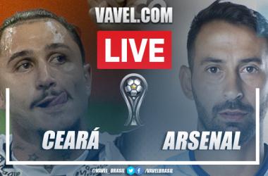 Melhores momentos de Ceará x Arsenal de Sarandí (0-0)