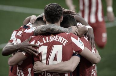 Al Atleti solo le quedan dos finales para proclamarse CAMPEÓN. /Twitter: Atlético de Madrid oficial
