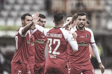 El Friburgo consiguió empatar al minuto 81 del encuentro. /Twitter: SC Freiburg oficial