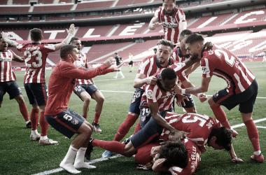 El Atlético de Madrid disputará su último duelo ante el Real Valladolid. /Twitter: Atlético de Madrid oficial