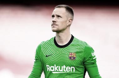 Ter Stegen no podrá disputar la Eurocopa con la selección alemana. /Twitter: Marc-André Ter Stegen oficial