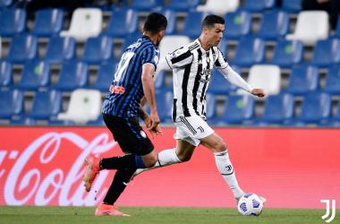 Primera Copa Italia para Cristiano Ronaldo. Fuente: @juventusfc
