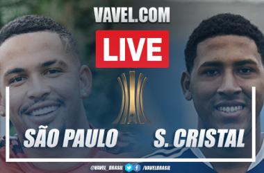 Gols e melhores momentos de São Paulo 3 x 0 Sporting Cristal pela Copa Libertadores