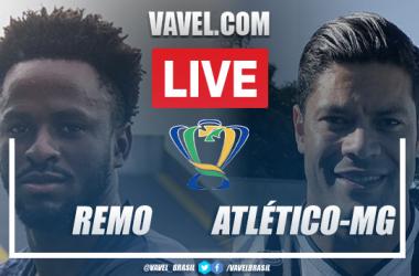 Gols e melhores momentos para Remo x Atlético-MG pela Copa do Brasil (0-2)