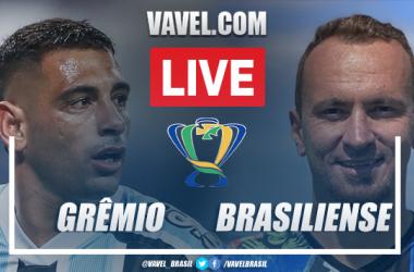 Gols e melhores momentos de Grêmio 2 x 0 Brasiliense pela Copa do Brasil