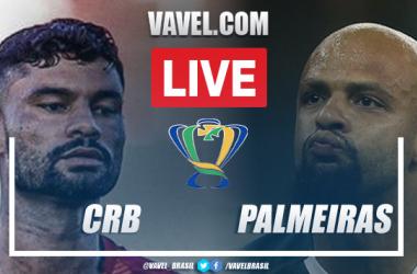 Gol e melhores momentos de CRB x Palmeiras (0-1)