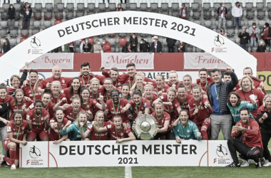 El Bayern Femenino se consagró campeón por cuarta vez en su historia. /Twitter: FCBfrauen oficial