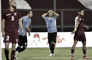 Venezuela e Uruguai empatam pela sexta rodada das Eliminatórias