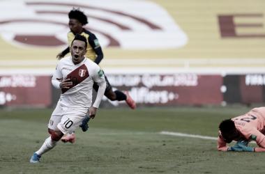 Peru domina, bate Equador fora de casa e vence a primeira nas Eliminatórias