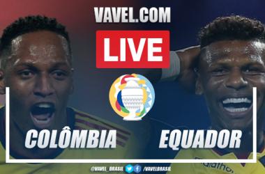 Colômbia x Equador AO VIVO: onde assistir ao jogo em tempo real pela Copa América