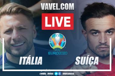 Gols e melhores momentos para Itália x Suíça pela Euro 2020 (3-0)