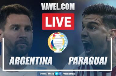 Gol e melhores momentos para Argentina x Paraguai pela Copa América (1-0)