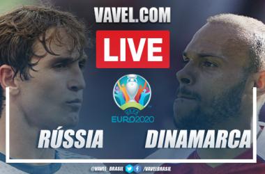 Gols e melhores momentos Rússia x Dinamarca pela Eurocopa (1-4)