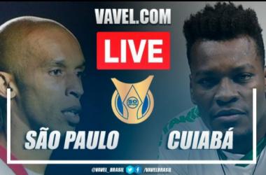 Gols e melhores momentos São Paulo x Cuiabá pelo Campeonato Brasileiro (2-2)