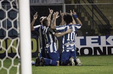 Da ultima vez que se encontraram o Avaí venceu por 2 a 1 (Foto: André Palma Ribeiro / Avaí FC)